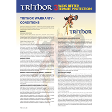 Trithor 50 Year Warranty